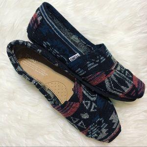 "TOMS Aztec Design ""Eva"" Shoes"